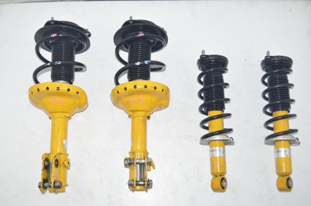 Used Subaru Legacy JDM Yellow Bilstein 2004-2009 Suspensions for Sale
