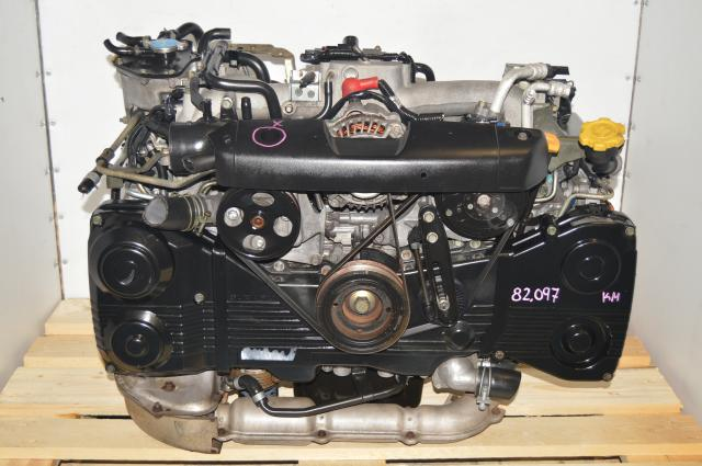Used Subaru EJ205 2.0L AVCS DOHC TF035 Turbocharged WRX 2002-2005 TGV Delete Engine for Sale
