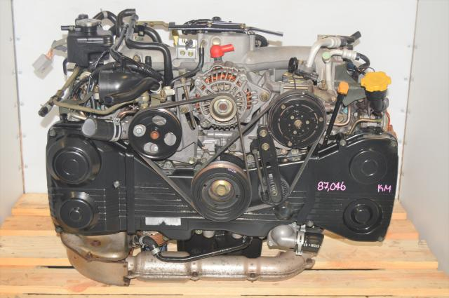 JDM AVCS DOHC EJ205 WRX 2002-2005 TGV Delete Motor Swap with TF035 Turbo