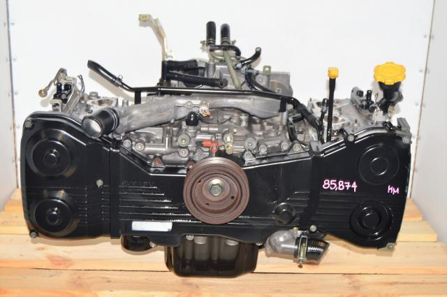 JDM Used Subaru WRX 2002-2005 GD DOHC 2.0L Long Block Motor