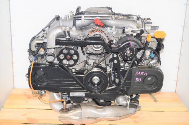 JDM Subaru Impreza SOHC 2006-2008 EJ253 AVLS Naturally-Aspirated Non-Turbo 2.5L Replacement Engine with EGR for Sale