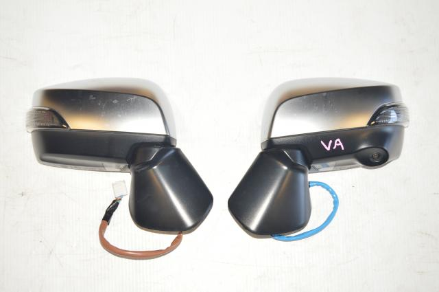 Subaru WRX 2015-2018 Silver Exterior Side Mirrors for Eyesight Equipped Models