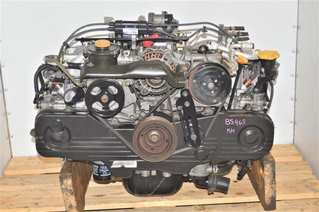 JDM SOHC EJ201 2.0L Replacement Legacy / Forester Non-Turbo Naturally Aspirated Replacement Long Block for Sale