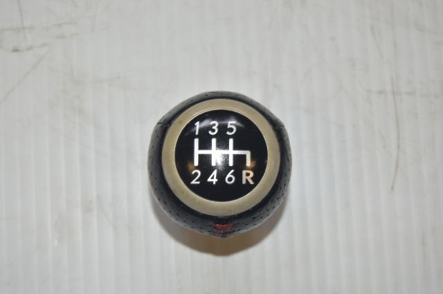 Subaru WRX STI Interior 6MT Shift Knob 2004+ Turbo Six Speed Models