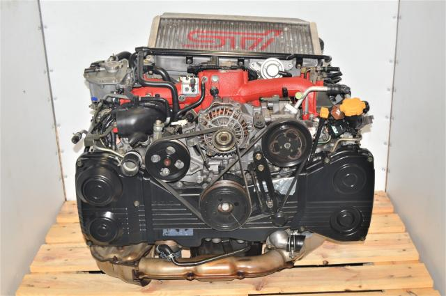 Used Version 7 2002-2007 GD AVCS 2.0L DOHC Turbocharged Subaru STi Engine Swap for Sale with Intercooler