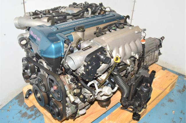 JDM Used Toyota 2JZ GTE VVTi Twin Turbo Engine Swap for Sale with 3F310 Transmission for Sale