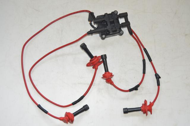 JDM EJ20 EJ25 Ignition Coil, Wiring & Plugs For Sale for 1998-2004 Non Turbo Subaru Applications