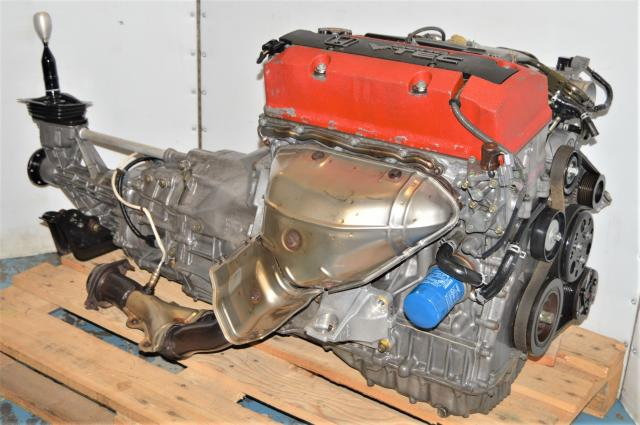 Used JDM Honda S2000 AP1 F20C 2000-2003 Replacement VTEC 2.0L Engine with Transmission Package for Sale