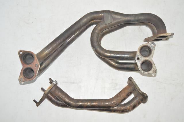 JDM Subaru WRX STI Version 8 EJ207 Equal Length Twin Scroll Exhaust Manifold & Up-pipe for sale