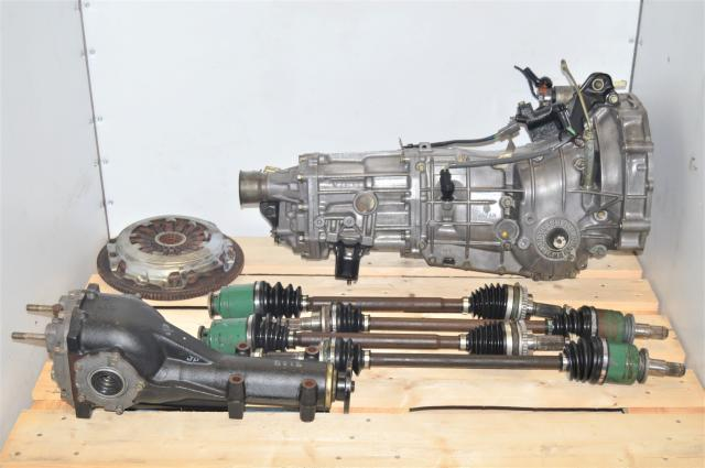 JDM Subaru WRX 2002-2005 5-Speed Manual GDB GDA 4.11 Transmission Swap for Sale