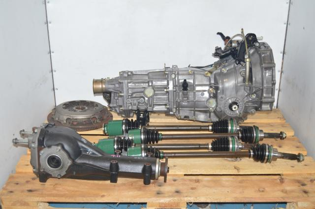 JDM Subaru Impreza WRX GD 02-05 Manual Pull-Type 5 Speed Transmission with 4.11 Rear Differential