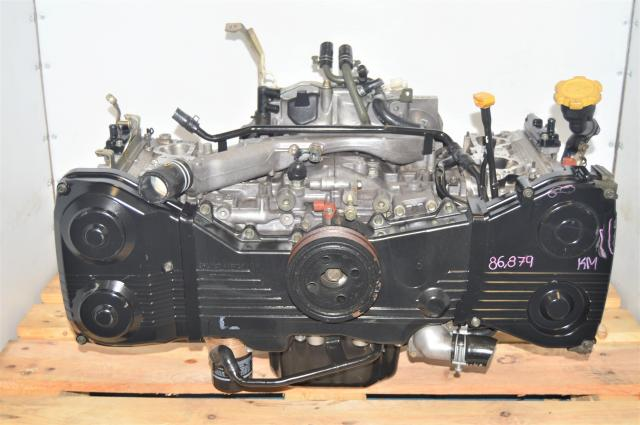 Used Subaru DOHC JDM WRX 2002-2005 EJ205 Replacement Long Block Engine for Sale