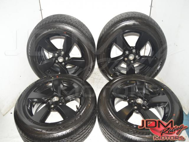 2013+ Nissan Qashqai 18x7 et40 5x114.3 Wheels w/Bridgestone Dueler HP Tires For sale