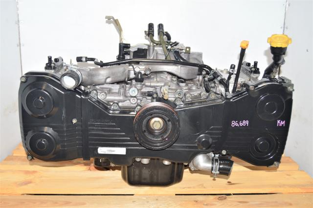 JDM WRX 2002-2005 EJ205 2.0L Long Block Subaru Replacement DOHC Motor