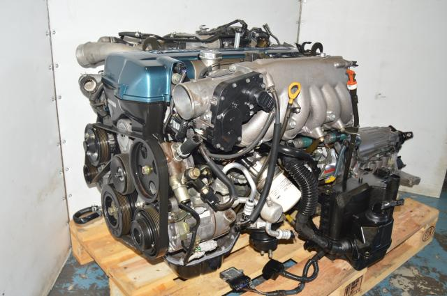 2JZ GTE VVTi Twin Turbo Used JDM Motor Package for Sale with Automatic 3F310 Transmission