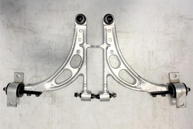 Subaru WRX STI Version 8 Front Lower Aluminum Control Arms w/Ball Joints for 2002-2007 Models