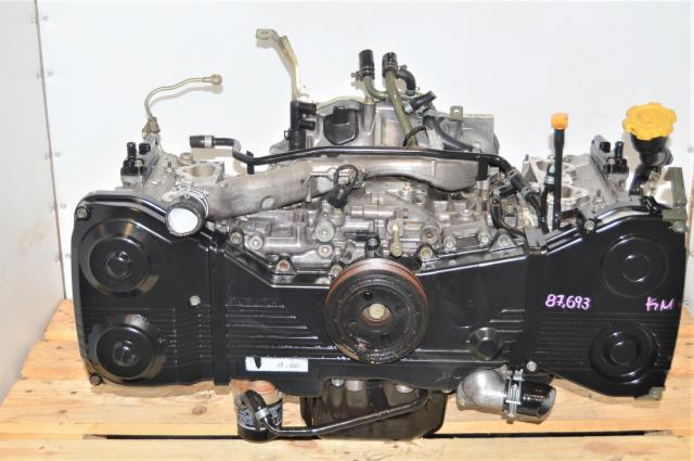 JDM Subaru WRX 02-05 GD Long Block Replacement for EJ205 2.0L Quad Cam Engine for Sale