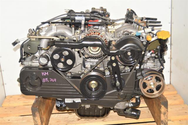 Used Subaru JDM EJ202, EJ201 2.0L Long Block Replacement SOHC Non-Turbo Engine for USDM 2.5L EJ253