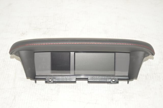 2015-2019 Subaru VA WRX Eye Sight Upper Infotainment Screen in Black Leather for VA Models