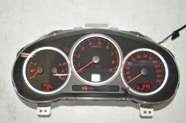 Version 9 WRX GDA Automatic 260km/h Opening Sweep Speedometer Instrument Cluster