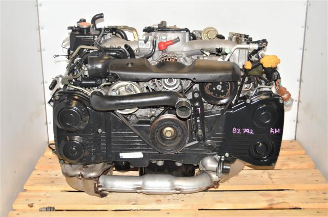 JDM Subaru WRX GDA EJ205 2.0L DOHC TD04 Turbocharged 2002-2005 DOHC Engine for Sale