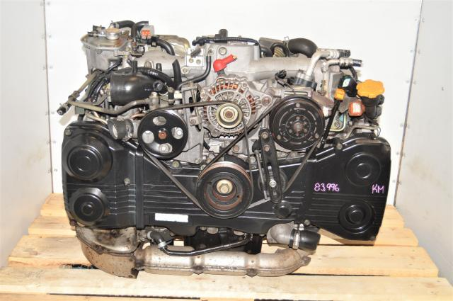 Used Subaru WRX TF035 Turbocharged AVCS DOHC EJ205 2002-2005 Engine Swap for Sale with TGV Delete