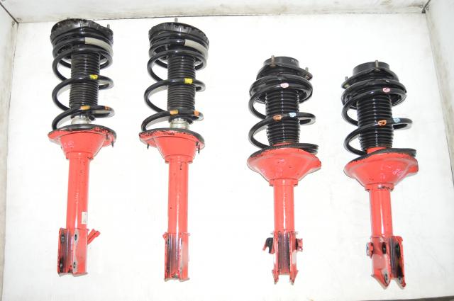 Subaru WRX STI Version 7 5x100 Red Big Shaft STI Suspension for 2002-2003 Models