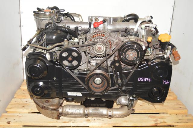 JDM Subaru WRX 2002-2005 Used 2.0L GDA EJ205 TF035 Turbocharged Replacement Engine for Sale