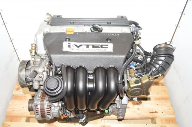 JDM Honda Used K24A1 i-VTEC 2.4L DOHC Engine with PPA Heads for Sale