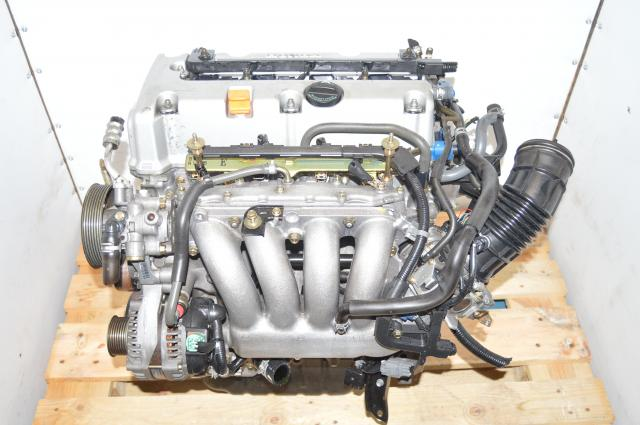JDM Used Honda K24A3 Accord 2003-2006 2.4L Engine Swap with RAA Heads