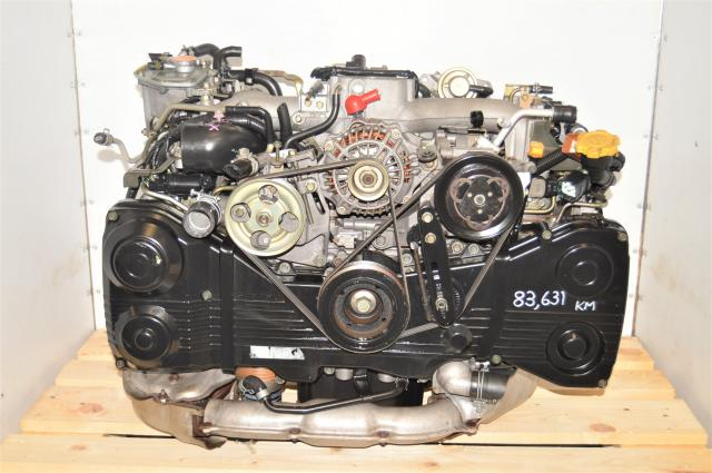 Used JDM Subaru WRX GD 2002-2005 2.0L AVCS EJ205 DOHC TD04 Turbocharged Engine for Sale