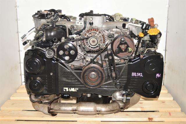 Used Subaru JDM EJ205 with AVCS for WRX 2002-2005 2.0L TD04 Turbocharged Engine for Sale