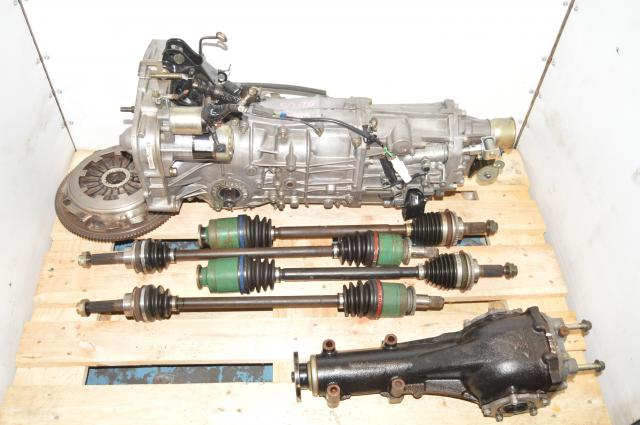 JDM WRX GD 4.11 Rear Diff & 5 Speed Manual Transmission Replacement 2002-2005 with Axles & Clutch