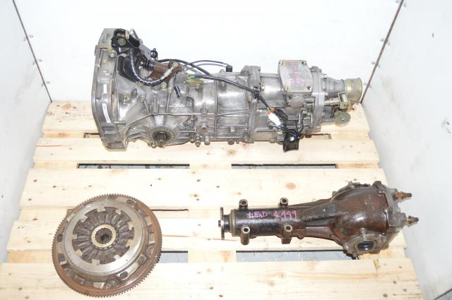 Used Subaru JDM Impreza WRX GC8 / Legacy / Forester MY97-98 5-Speed Pull-Type Transmission with 4.444 LSD Rear Differential