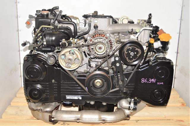 JDM WRX 2002-2005 AVCS 2.0L EJ205 GDA Engine with TD04 Turbocharger for Sale