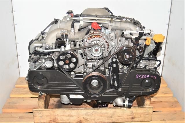 JDM Subaru SOHC 2.0L EJ203 Naturally-Aspirated Long Block Use Replacement for USDM EJ253 2004 RS