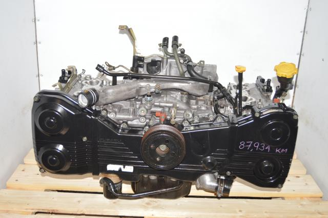 JDM WRX EJ205 2.0L 2002-2005 Long Block Replacement DOHC Engine Swap