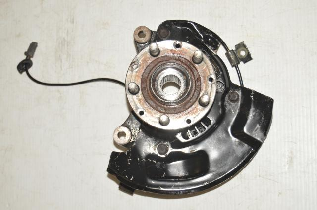 JDM STi 5x100 Front Driver LH Used Hub for Sale
