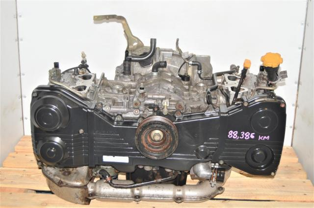 JDM WRX 2002-2005 GDA Replacement Used Long Block DOHC 2.0L Engine for Sale