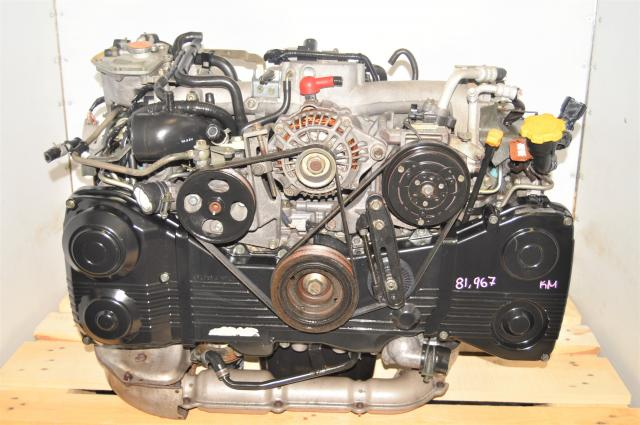 JDM WRX AVCS EJ205 GDA Replacement 2002-2005 2.0L TF035 Turbocharged Engine with TGV Delete