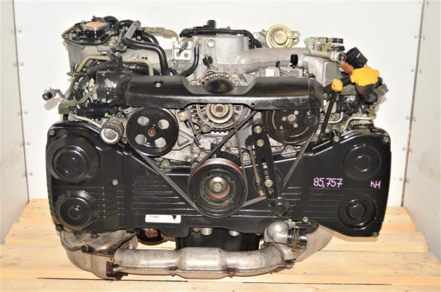 Used Subaru EJ205 GDA AVCS WRX 2002-2005 2.0L Engine Swap for Sale with TD04 Turbo