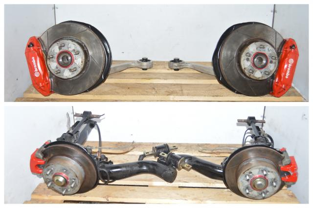 Honda Integra DC5R Acura RSX Type S Front and Rear Hubs & Brembo Brake Calipers w/Control Arms & Wishbones
