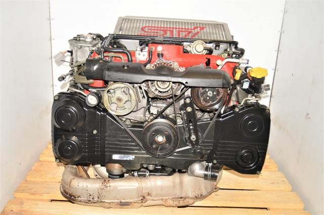 JDM Subaru Twin Scroll Version 8 EJ207 STi 2.0L AVCS Turbocharged 2002-2007 Engine Swap for Sale