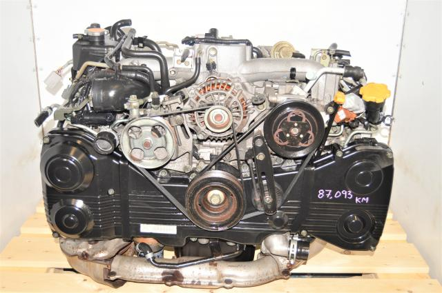 JDM WRX 2002-2005 AVCS 2.0L EJ205 GDA Motor Replacement with TD04 Turbocharger for Sale