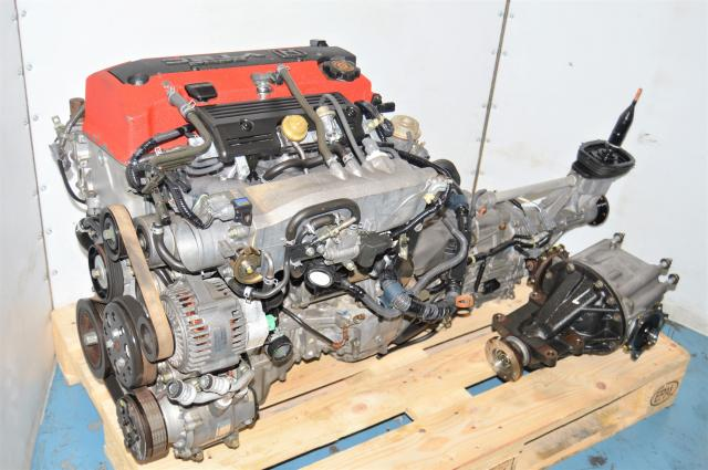 JDM Honda AP1 S2000 F20C DOHC VTEC Engine Swap with 6-Speed Transmission & Rear Differential