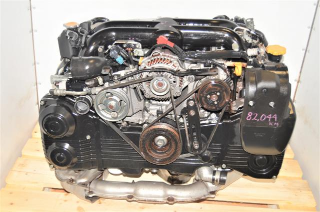 Used Subaru EJ255 2.5L WRX / Legacy / Forester 2008+ DOHC Single-AVCS Engine Swap with VF46 IHI Turbocharger for Sale