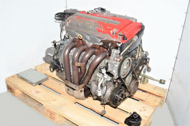 Used Honda B18C Type-R 1996 ITR 1.8L Engine Swap with S80 Manual LSD Transmission for Sale