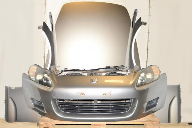 Used JDM Honda S2000 Nose cut with Fenders, Hood, Headlights, Front Bumper & Rad Support for Sale