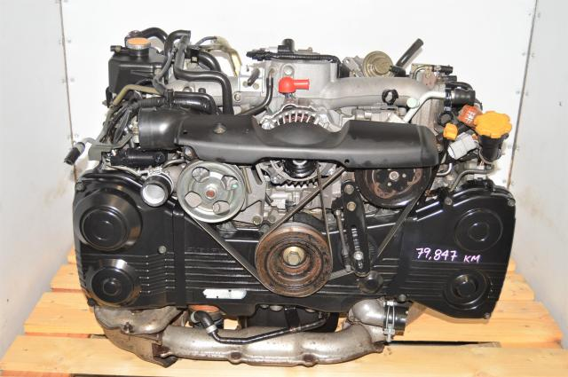 Used GDA WRX 2002-2005 2.0L DOHC TD04 Turbocharged EJ205 Replacement Engine for Sale