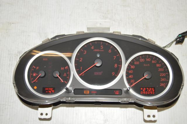 JDM Manual DCCD Version 9 260 KM/h Instrument Gauge Cluster with Opening Ceremony for Sale